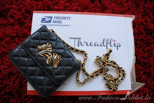Relapse ~ Rebecca Minkoff Quilted Zebra Head Bag