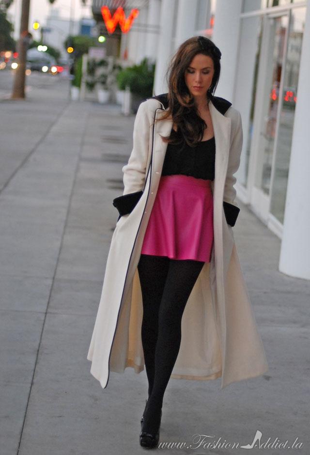 Short Skirt Long Jacket Kier Couture