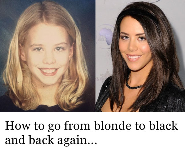Going Black To Blonde 2
