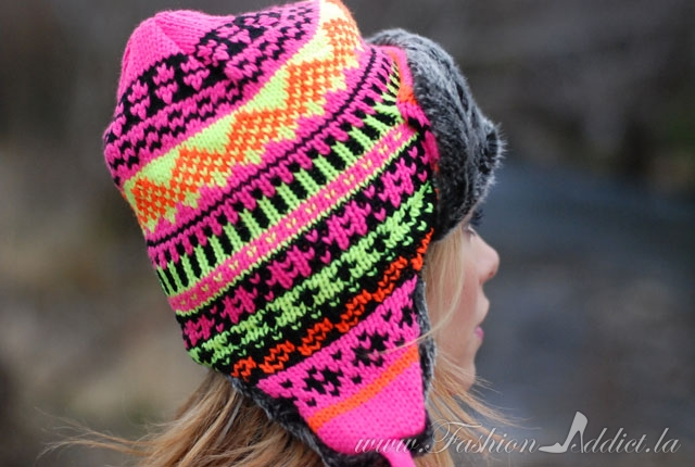 Cold Weather Outfits ~ Winter Neon