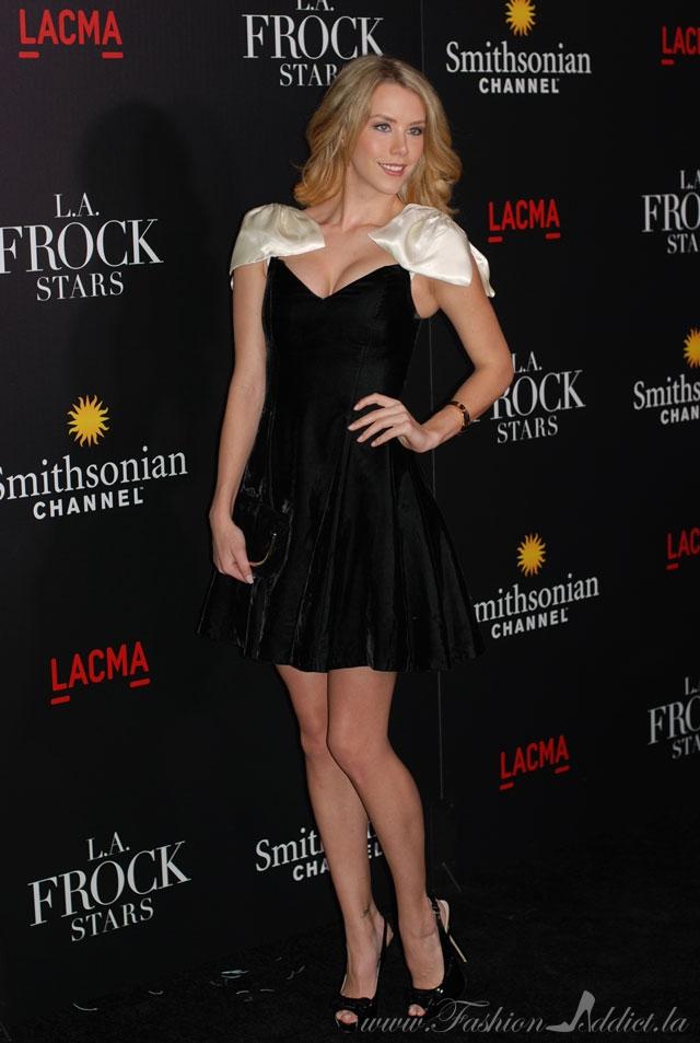 LA Fashion Blogger Kier Mellour at Frock Stars Premier Party