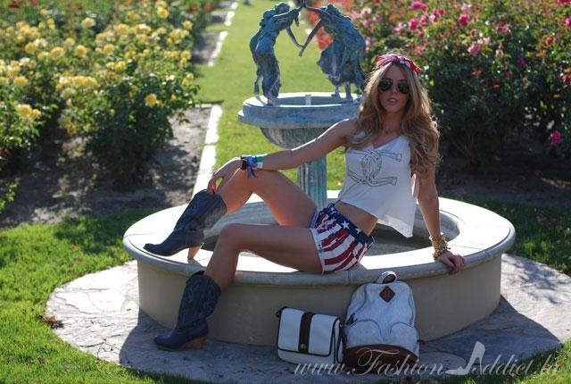 American-girl style