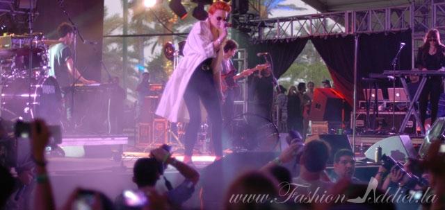 La Roux at Coachella