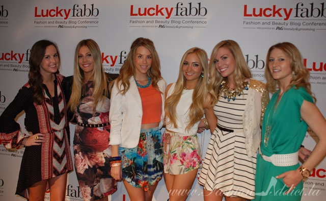 LUCKY FABB Bloggers