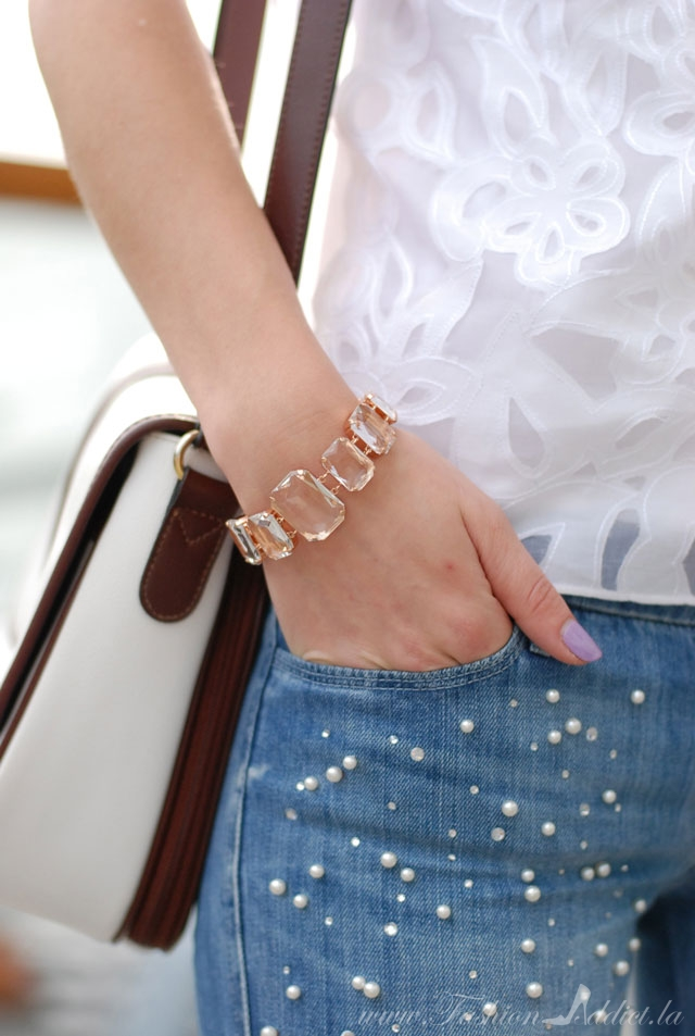 Capwell Rose Gold Bracelet
