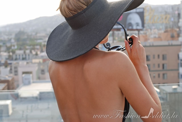 crownless sun hat
