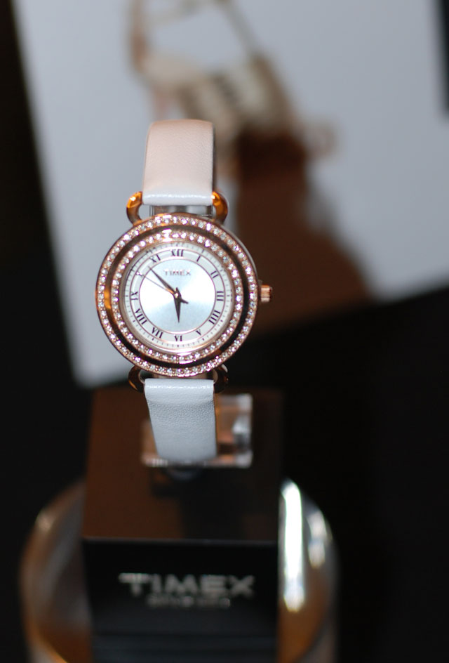 Timex Classic Crystals Rose gold