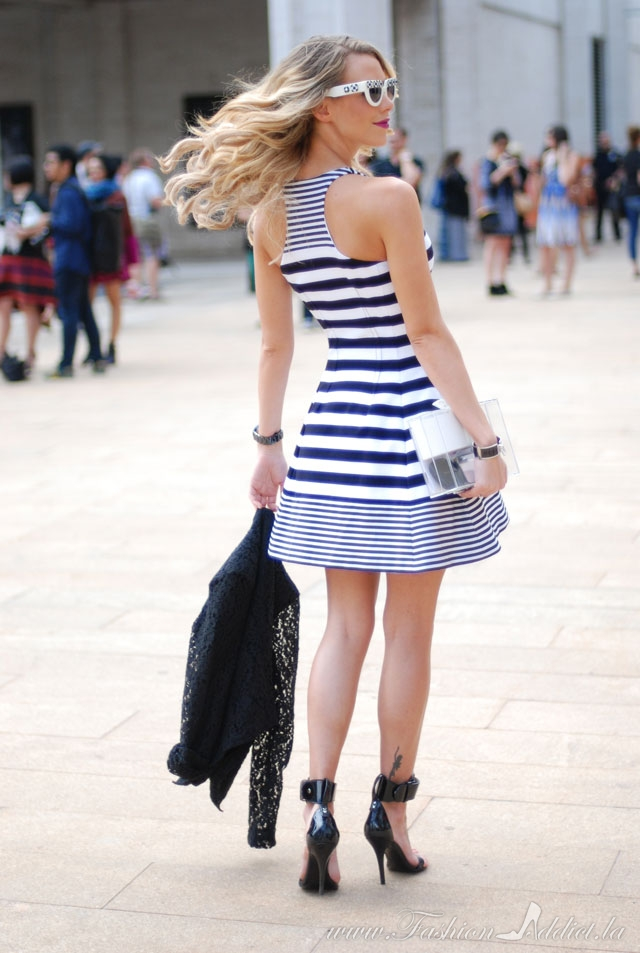 BCBG Stripped dress
