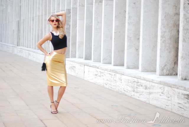 New-York-Fashion-Week-Gold-Skirt-8