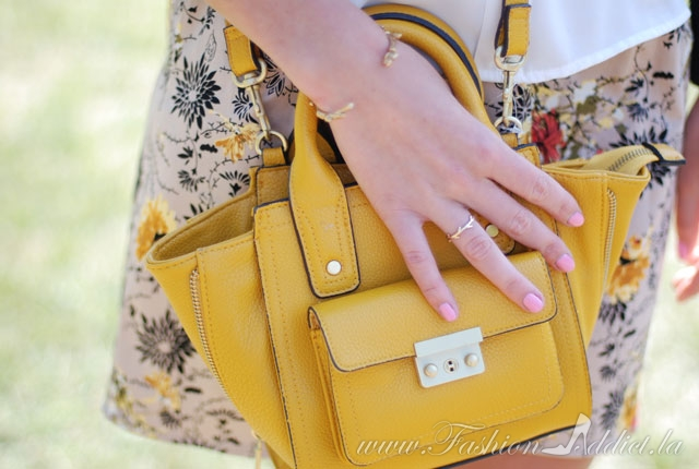 3.1 Phillip Lim for Target Mustard Mini Satchel