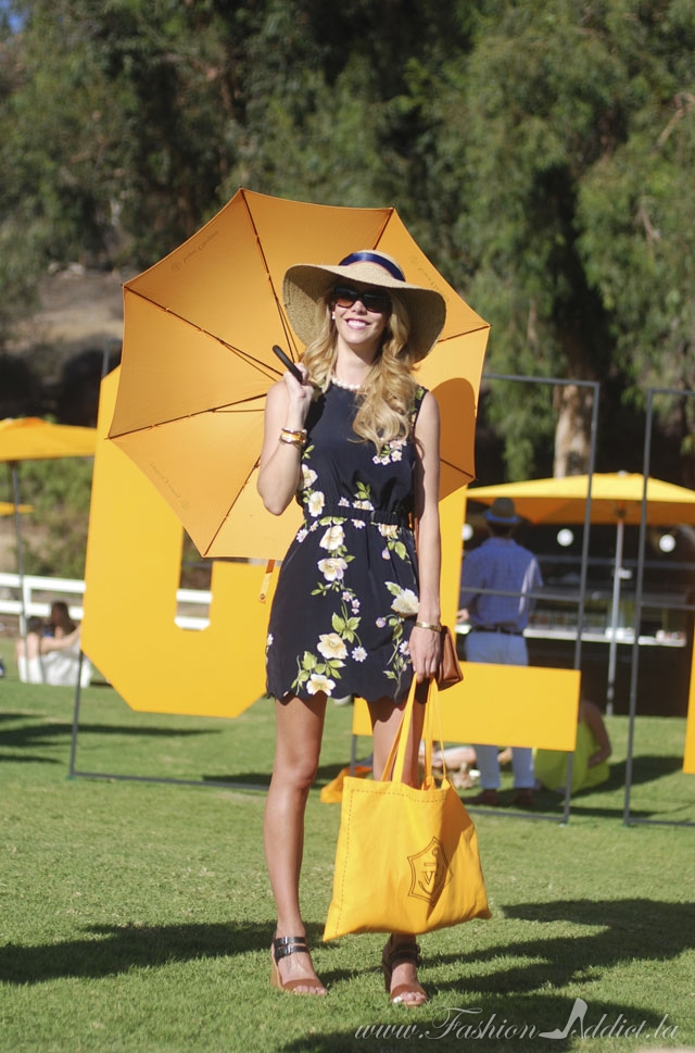 Fashion bloggers at the verve polo classic