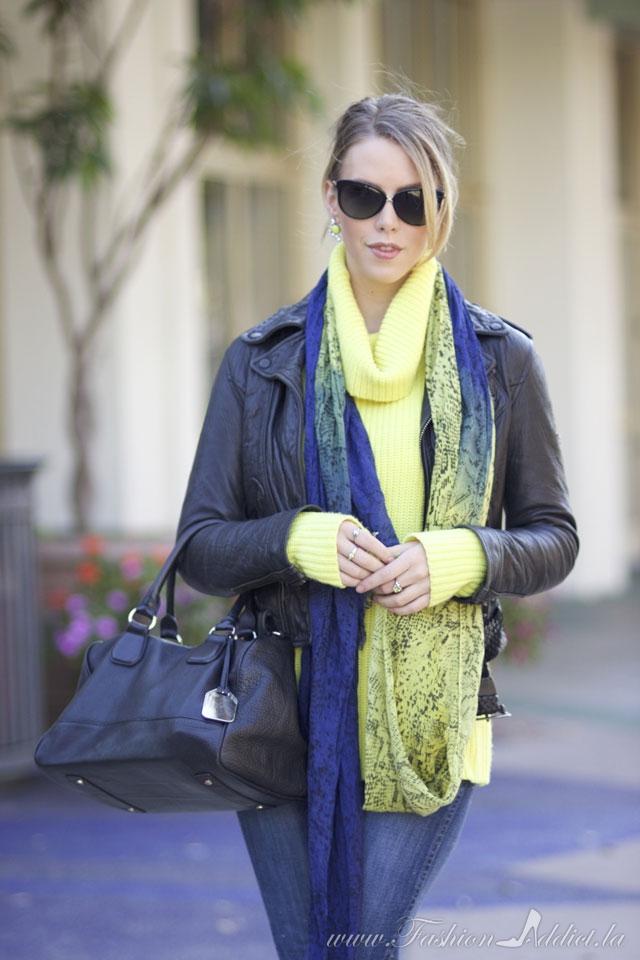 Weekend wear… Chartreuse
