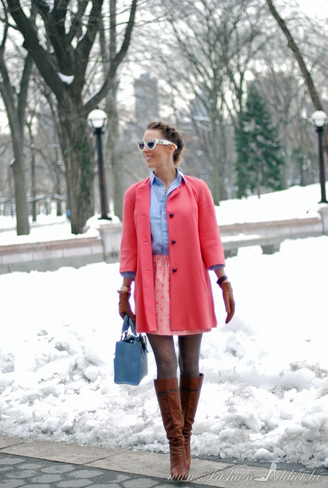 Fashion Blogger at NYFW F/W 2014