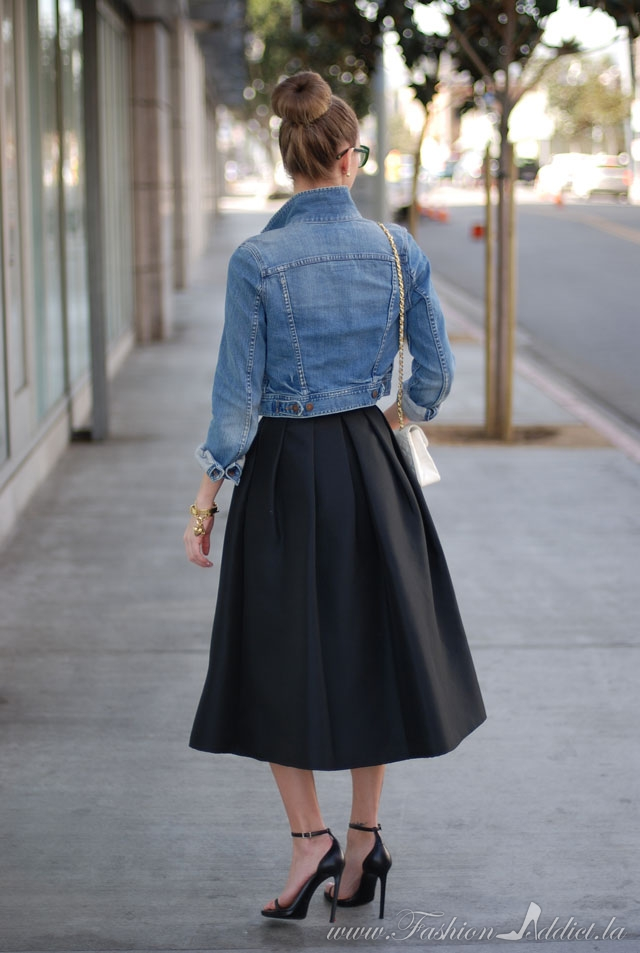 50 S Flare The Modern Poodle Skirt Kier Couture