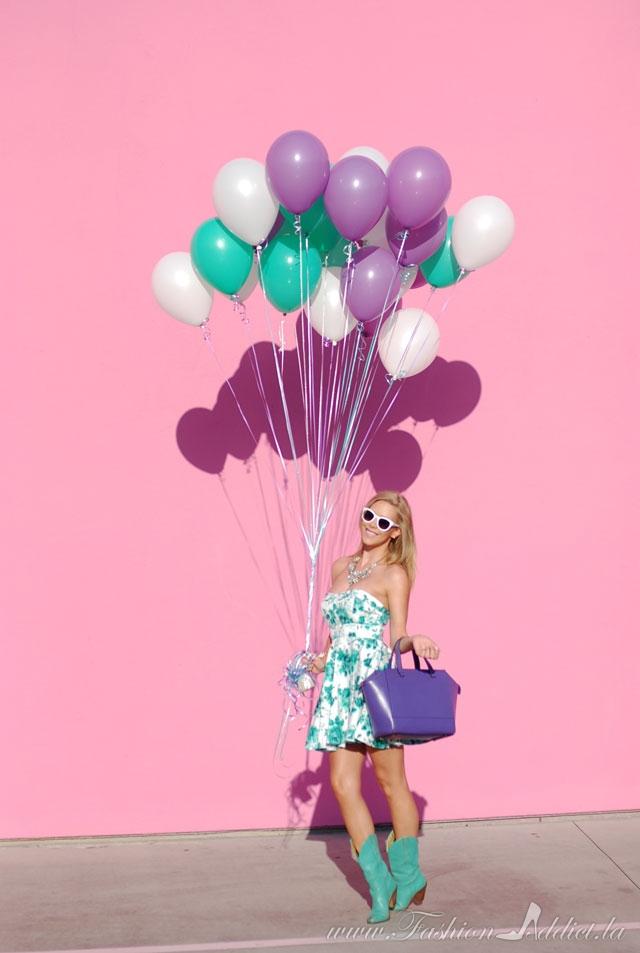 Fashion blogger in Hollywood