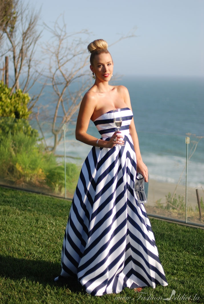 The Striped Gown