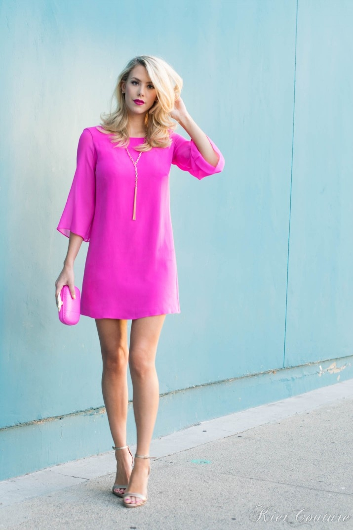 Kier-Couture-Pink-Dress-5