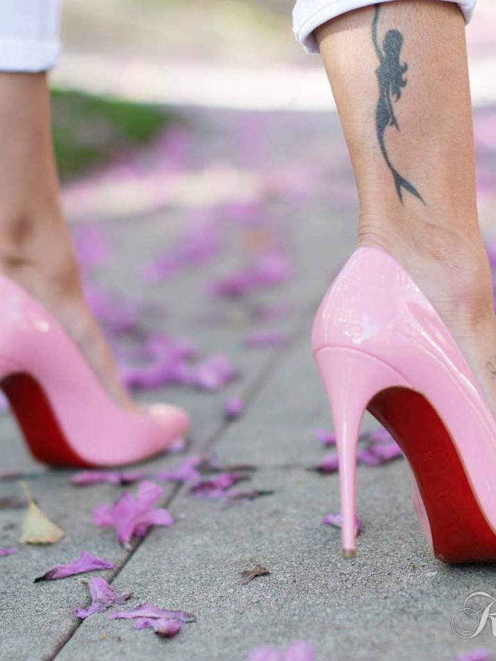 Pink Louboutins