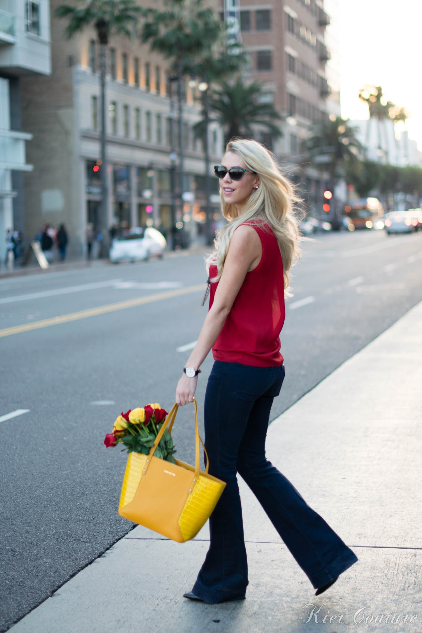 FW Style Yellow Tote