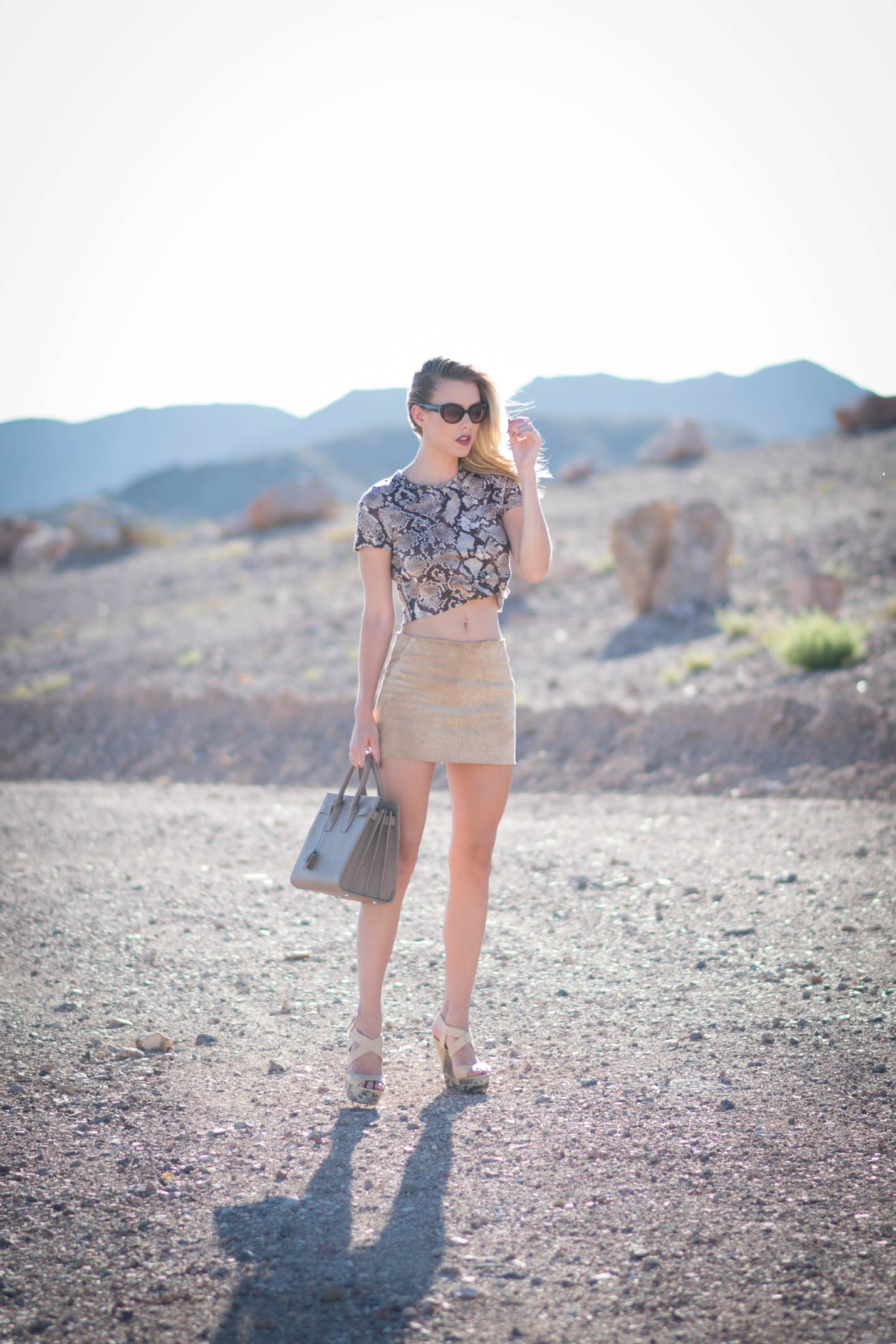desert fashion shoot