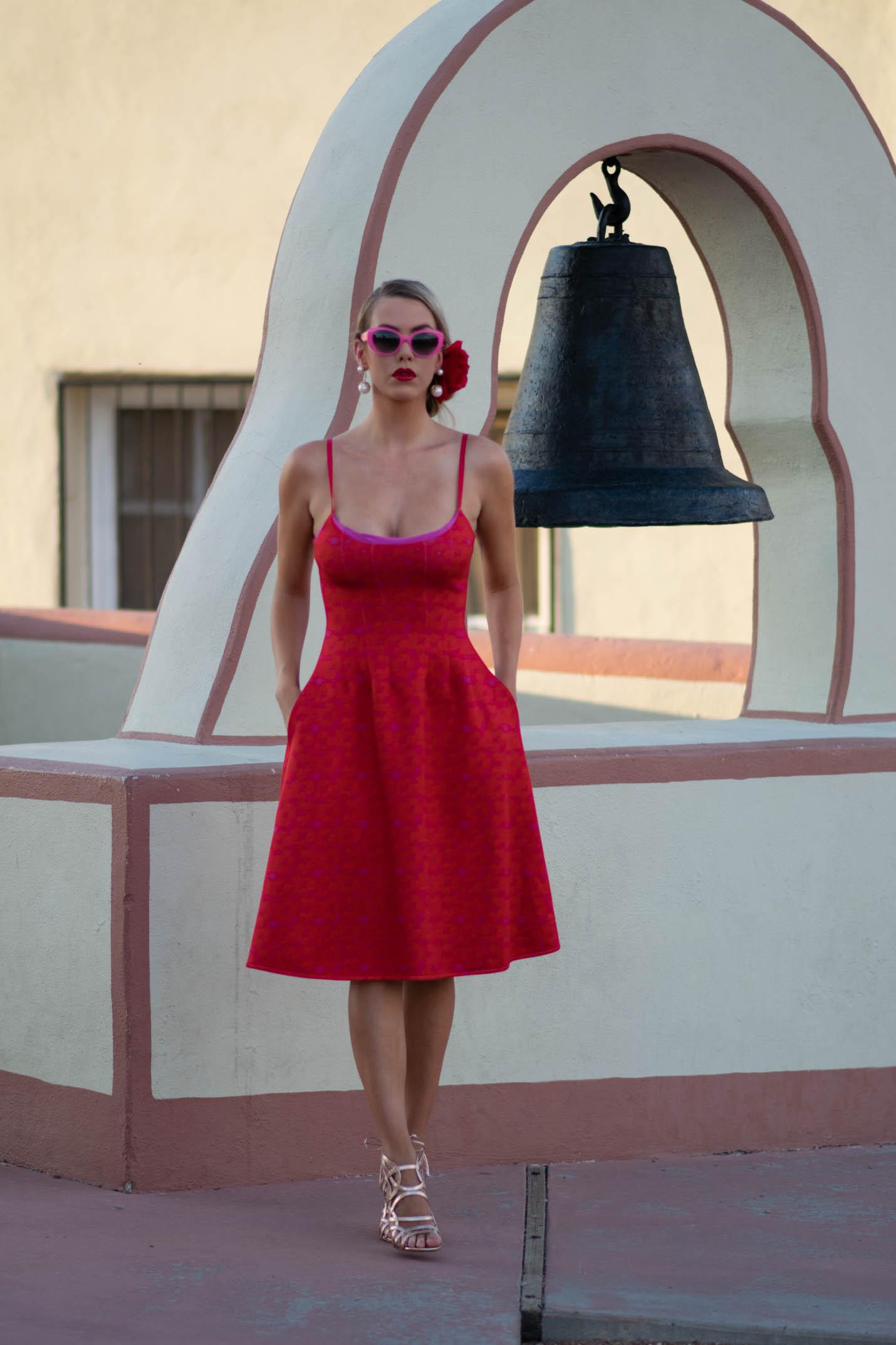 Cynthia Rowley Neoprene dress