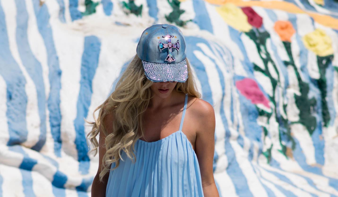 Salvation-Mountain-cross hat