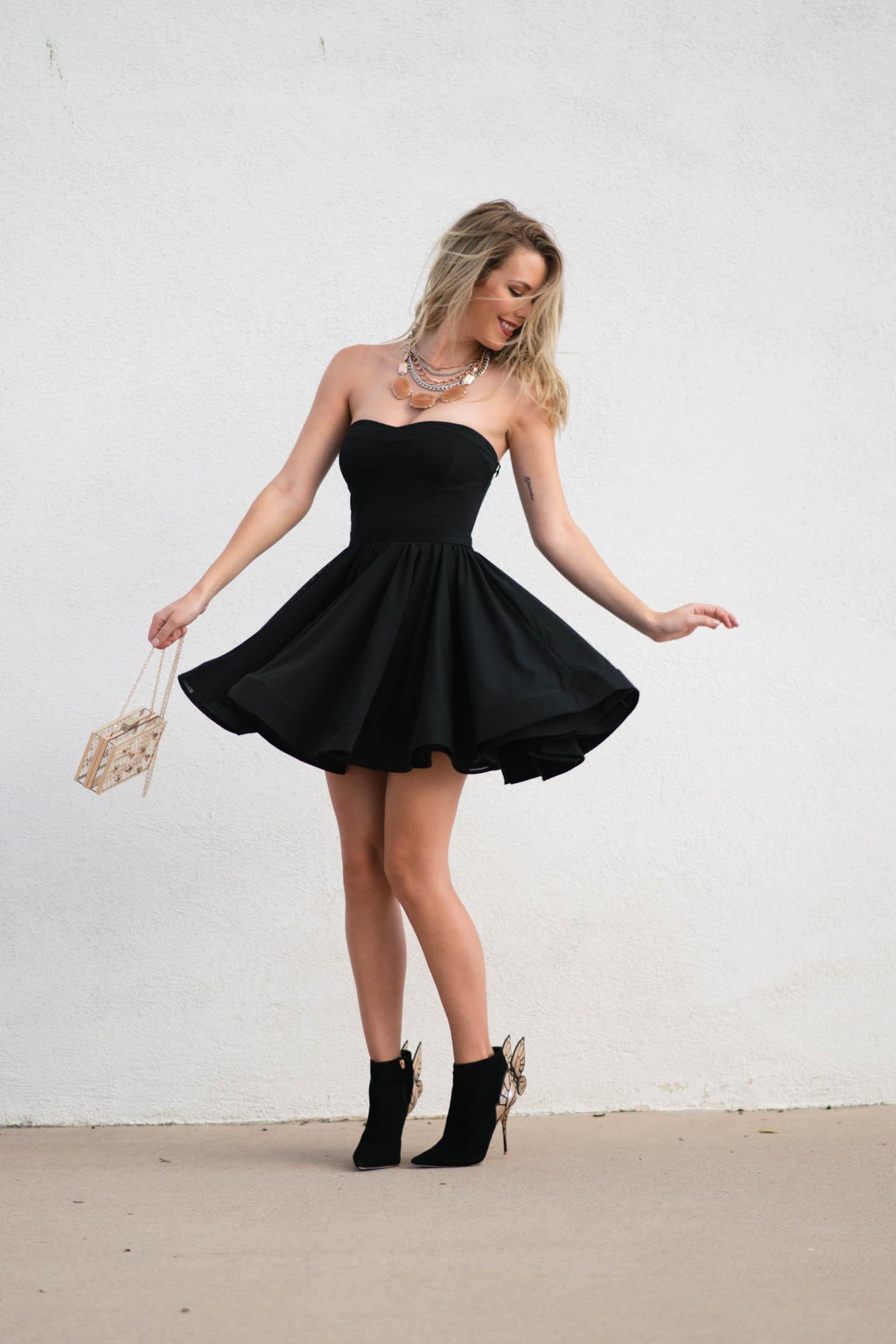 full skirt LBD