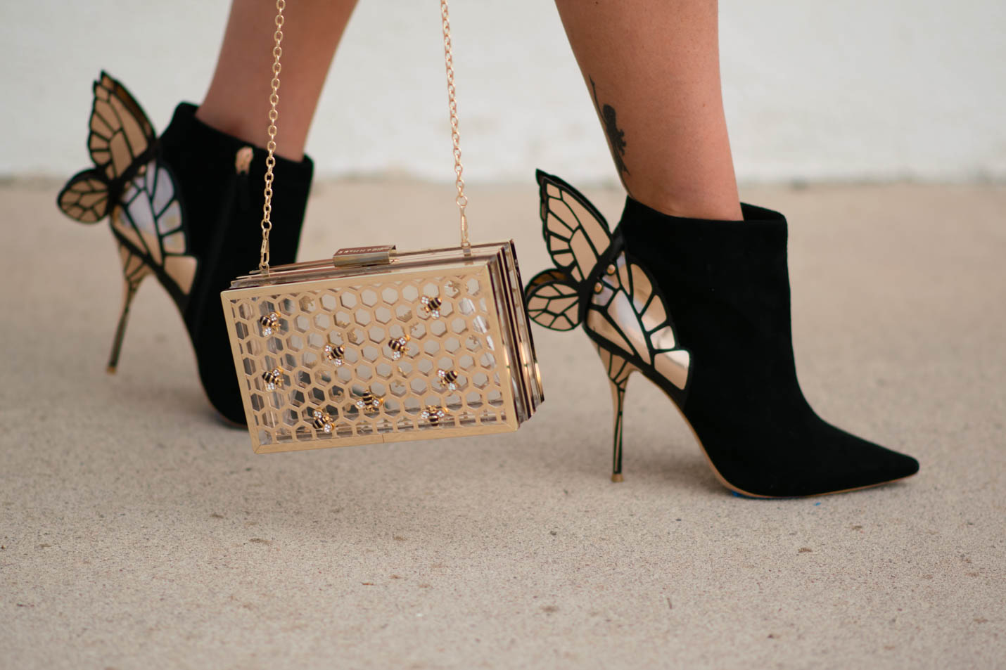 butterfly booties