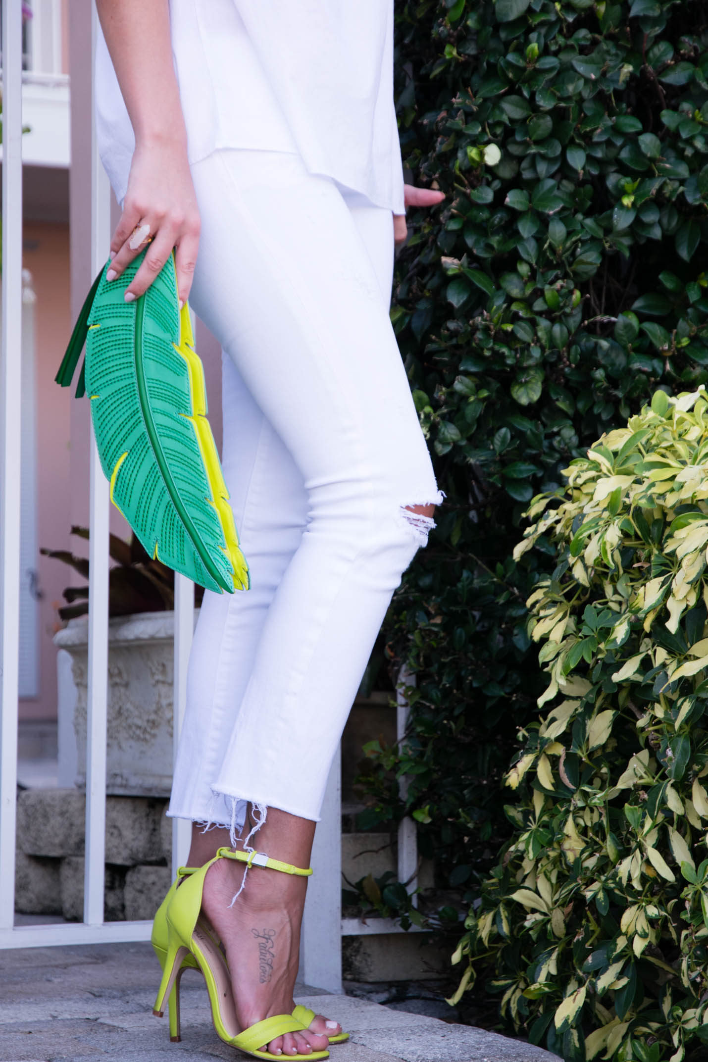 Prabal Gurung for Target chartreuse heels