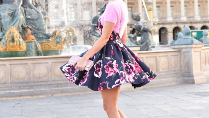 Keepsake floral dress