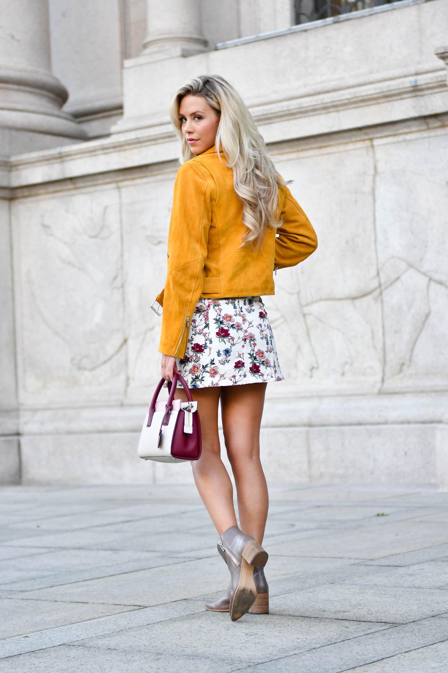 veda mustard jacket