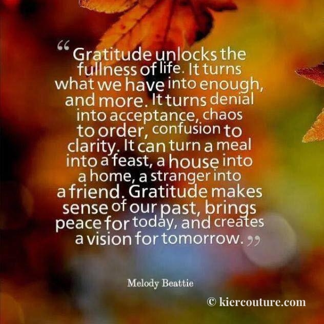 Why Gratitude is so Important