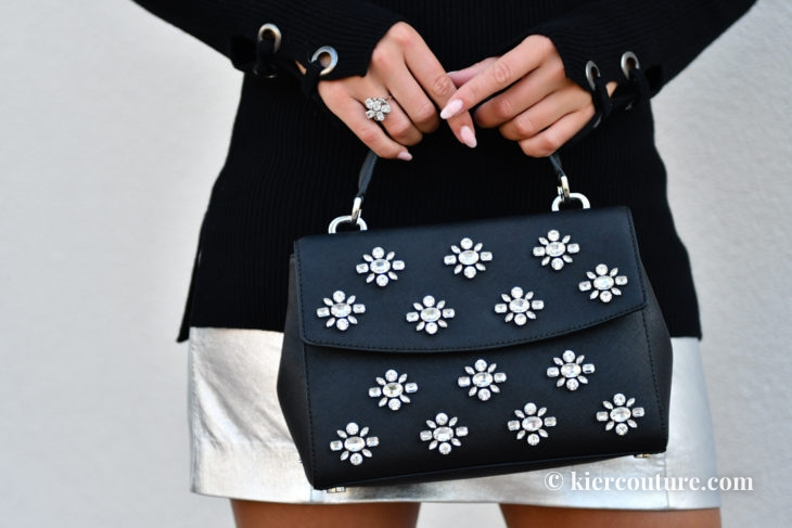 Michael kors Ava Jewel Embellished bag