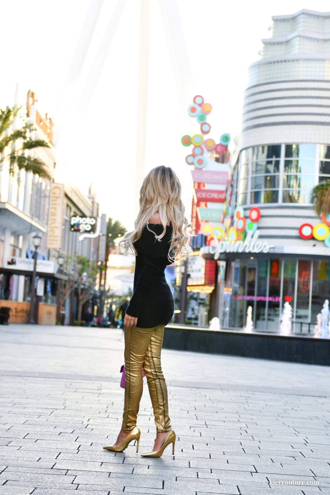 Linq promenade in Las Vegas
