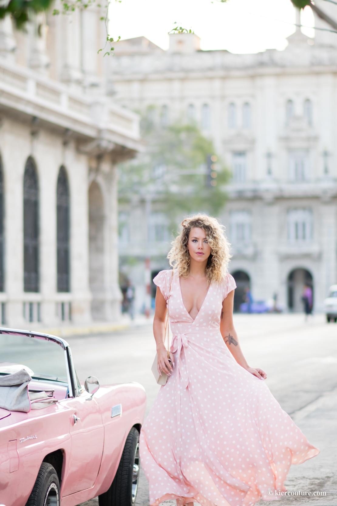 Havana Cuba pink