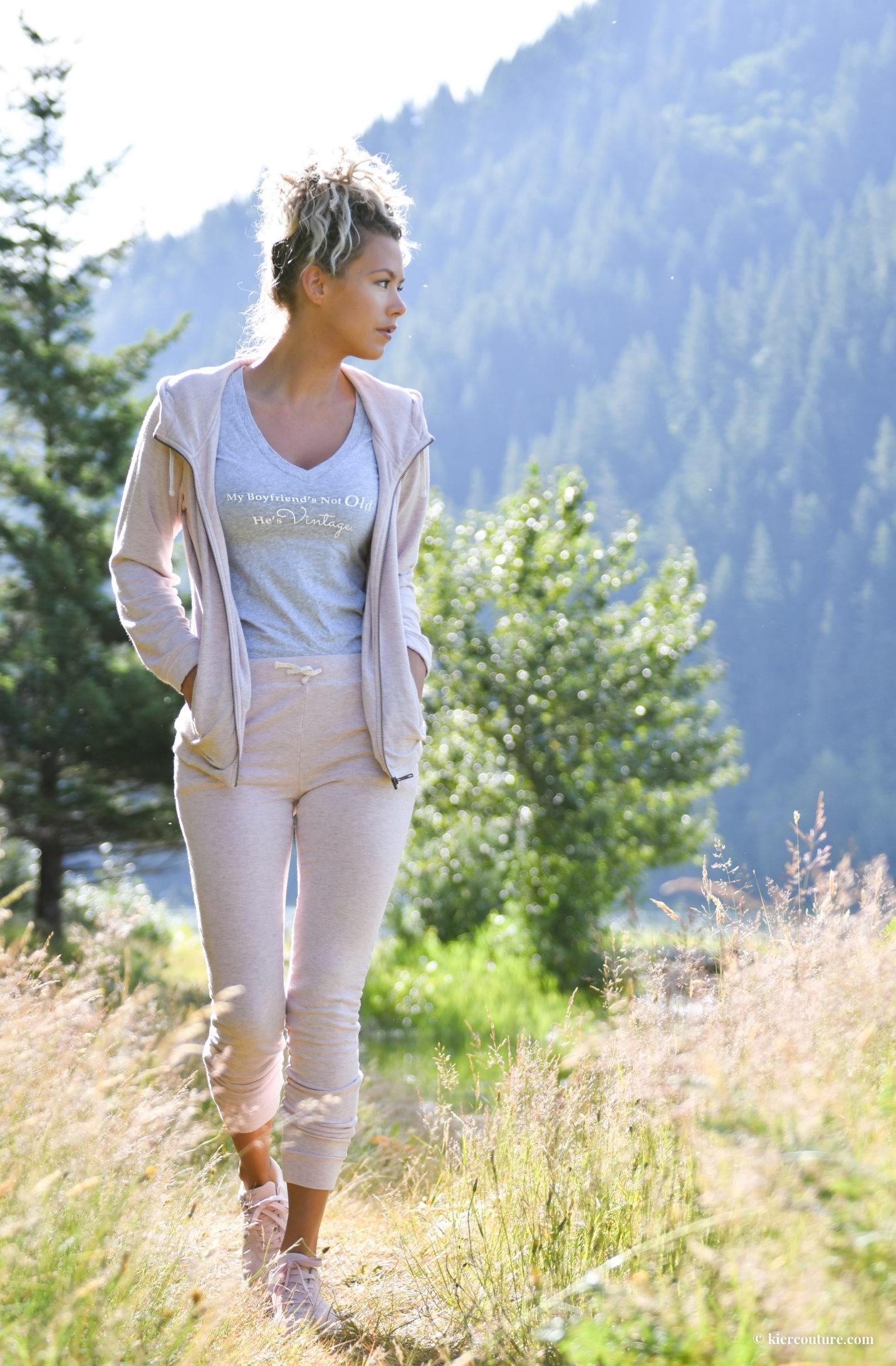 UGG cozy quartz slim jogger