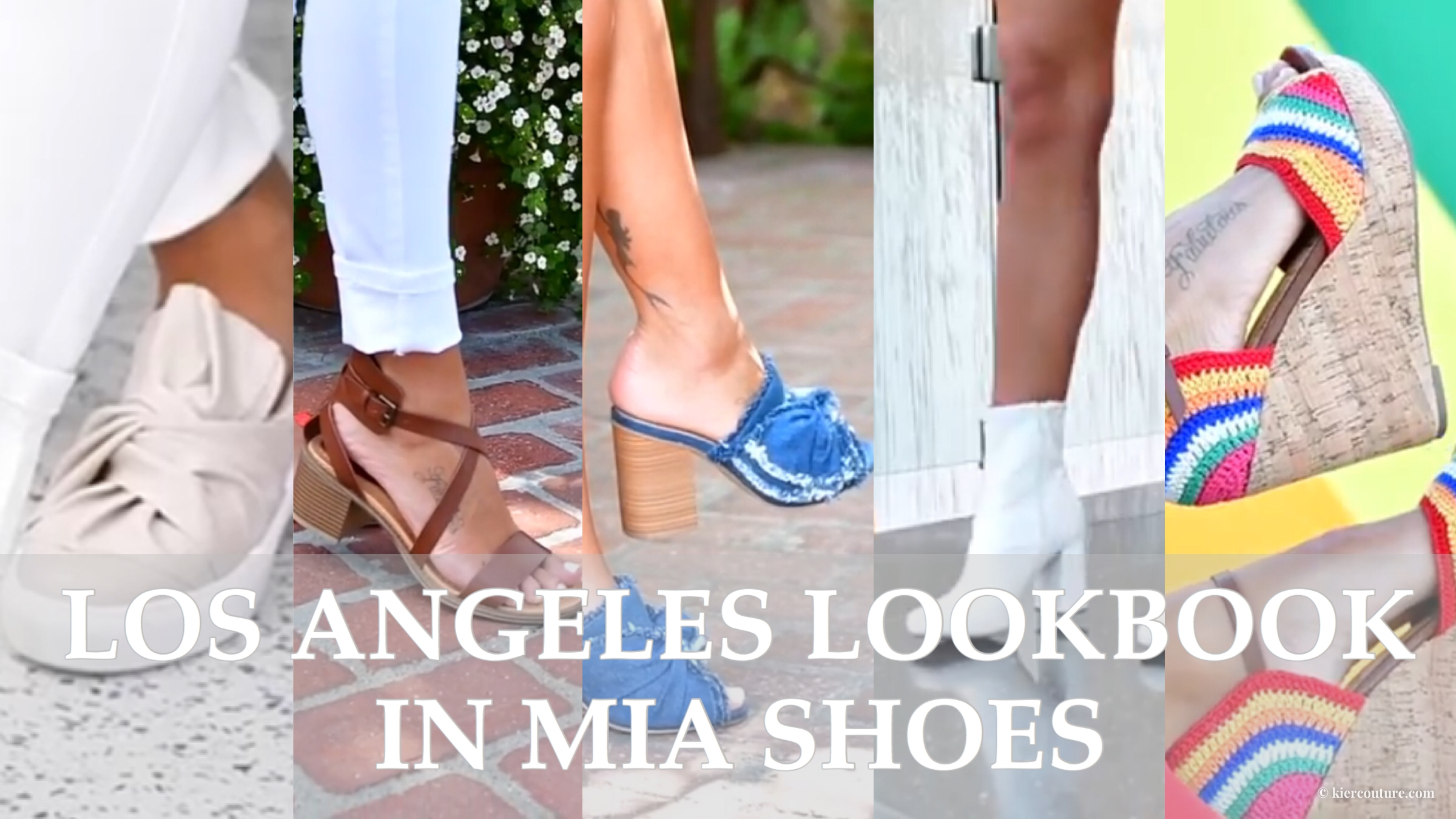 LA Lookbook in MIA Shoes