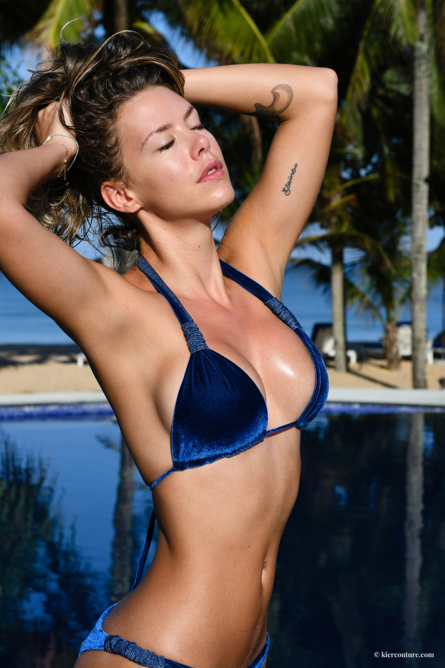 Shop Honey Luna velvet bikini