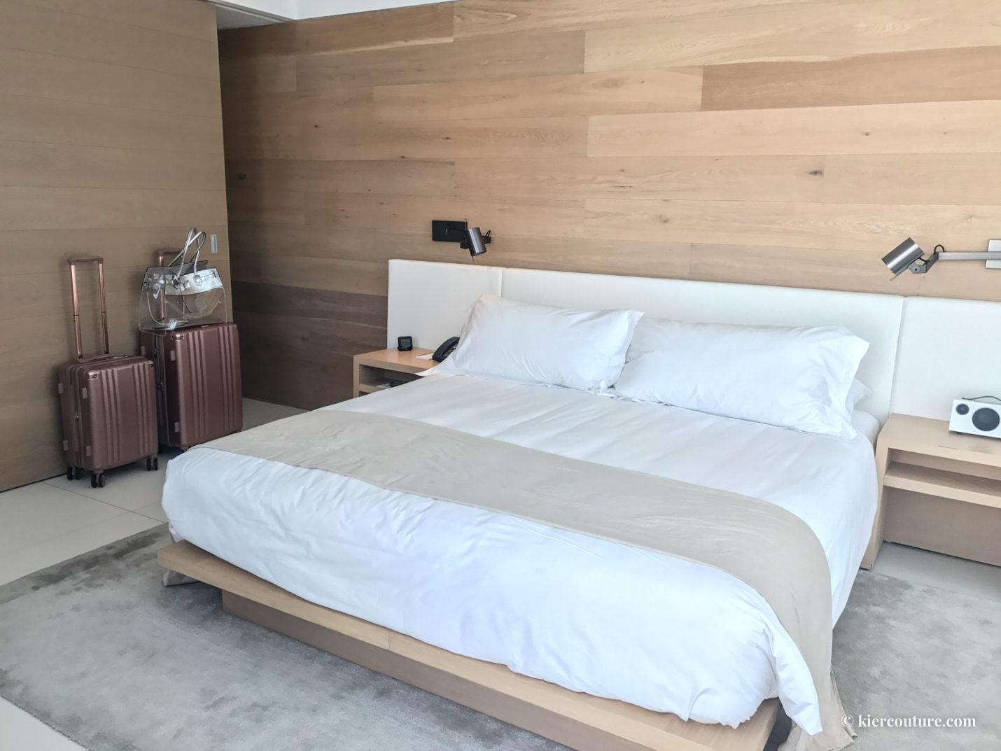 Miami beach edition hotel room