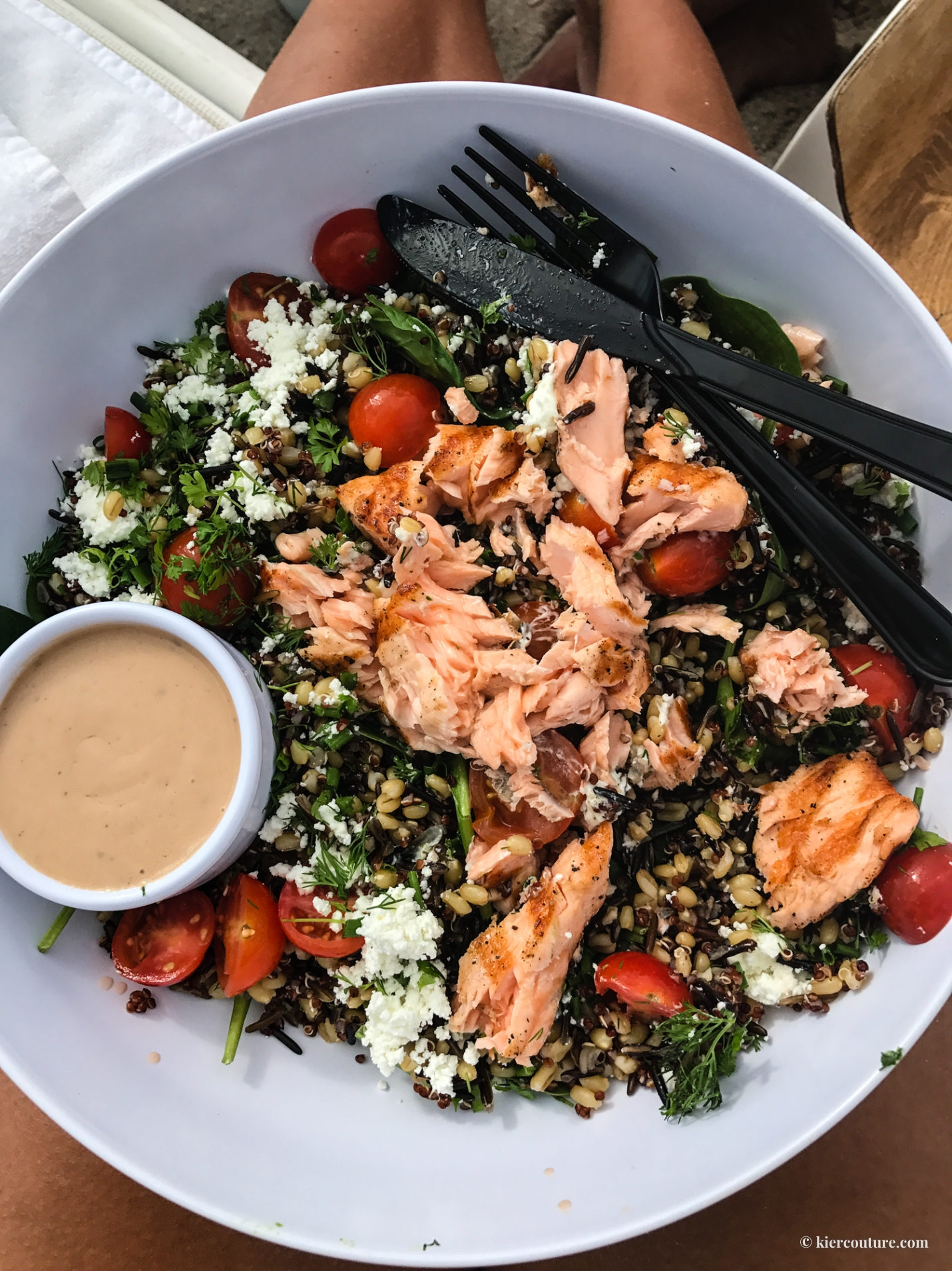 miami beach edition three grain salad