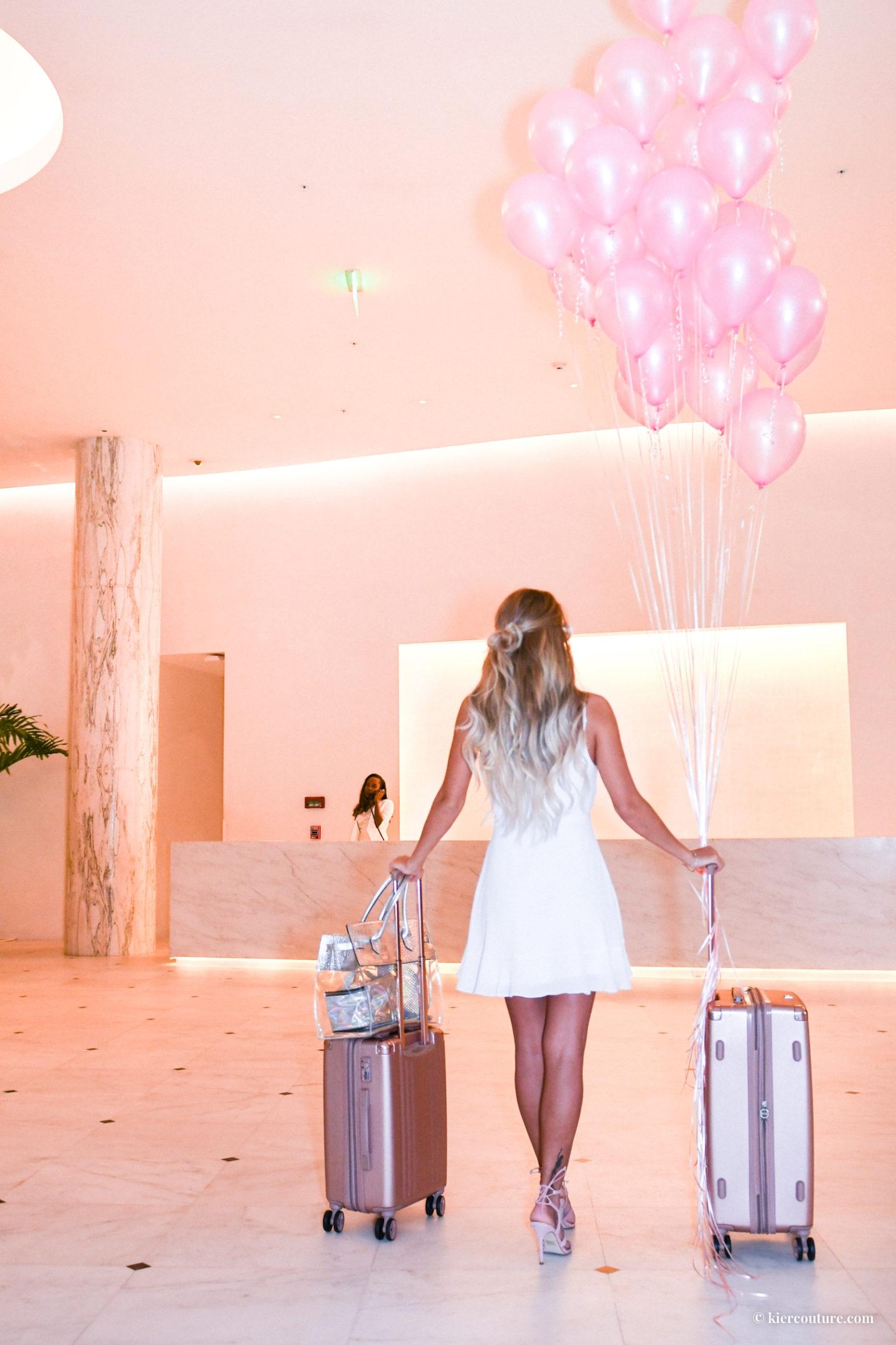 Miami beach edition lobby check in desk