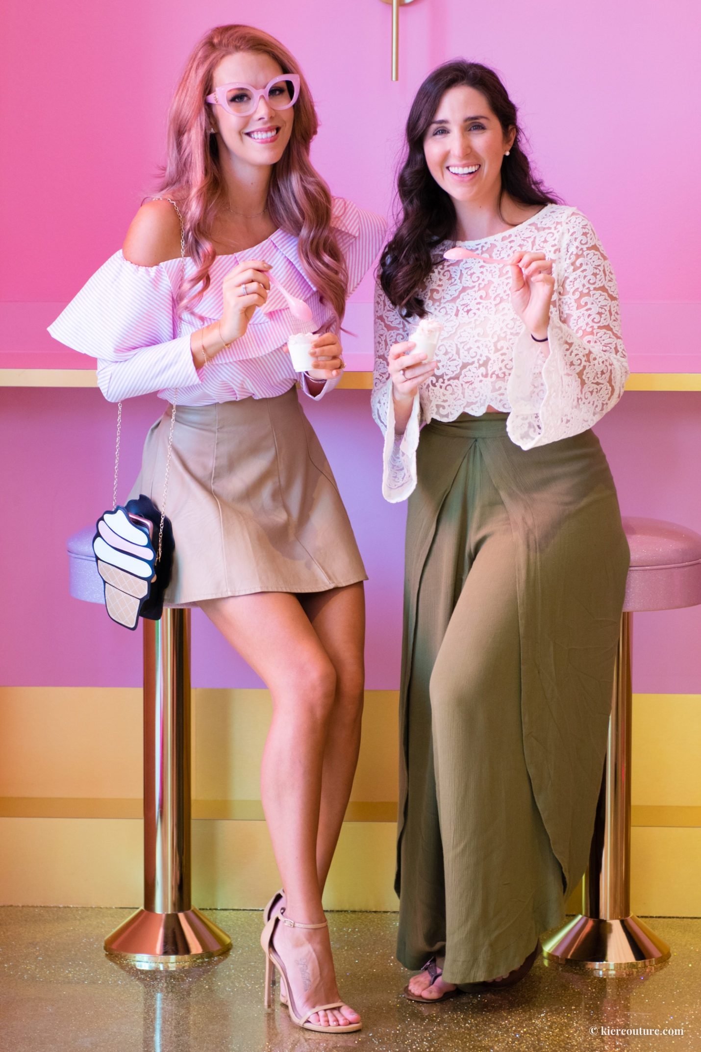 The Confused Millenial and Kier Couture at the Museum of Ice Cream