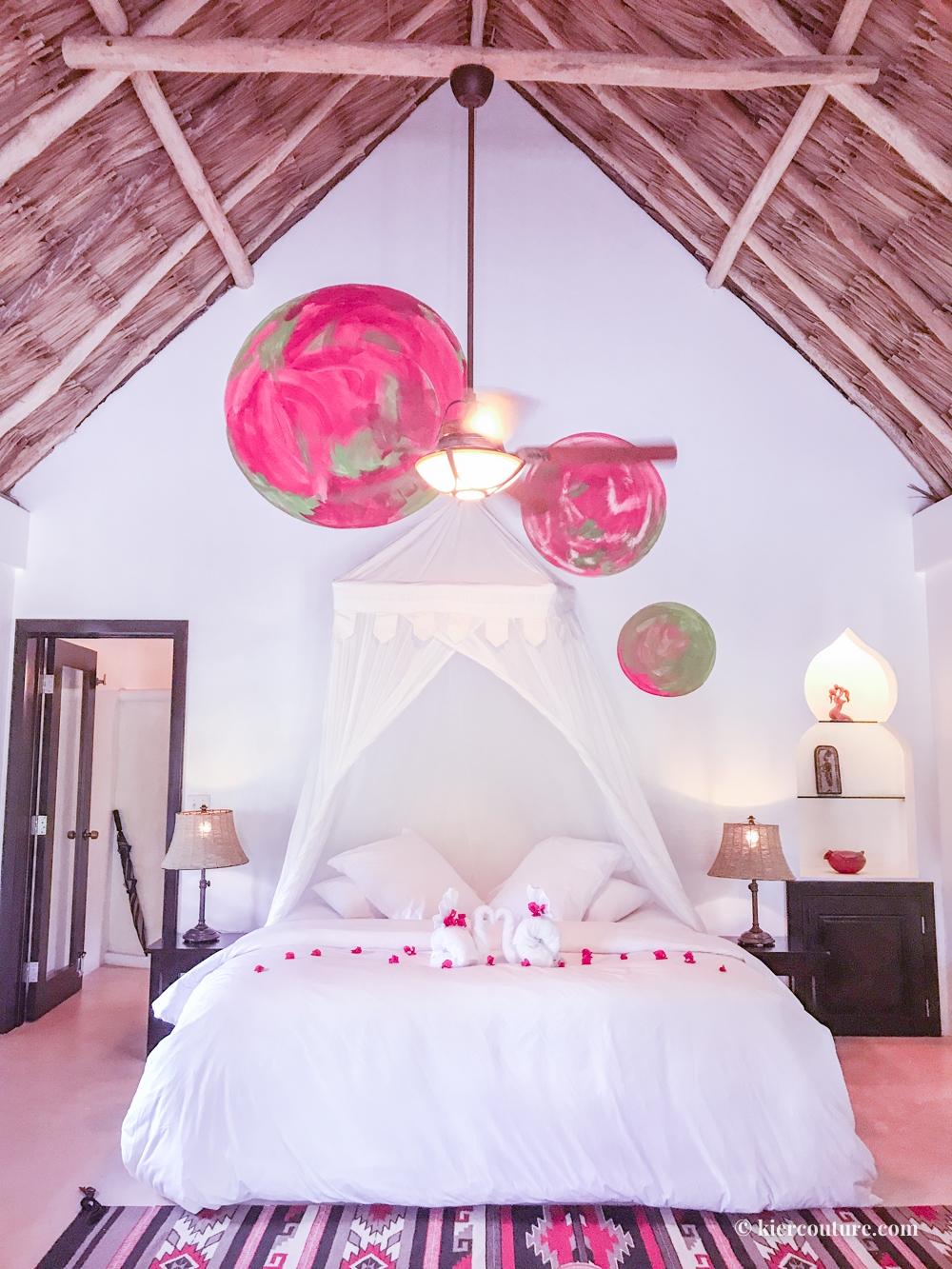 Matachica Resort Belize interior room