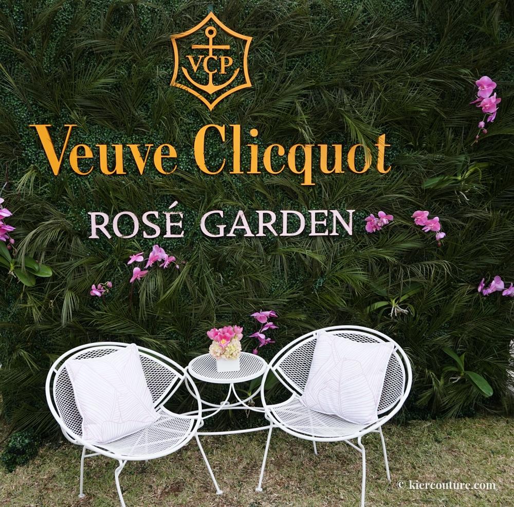 Veuve Cliquot Rosé garden