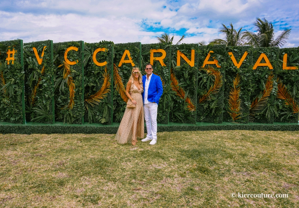 Kier Mellour and Jacques Theraube at Veuve Cliquot Carnaval