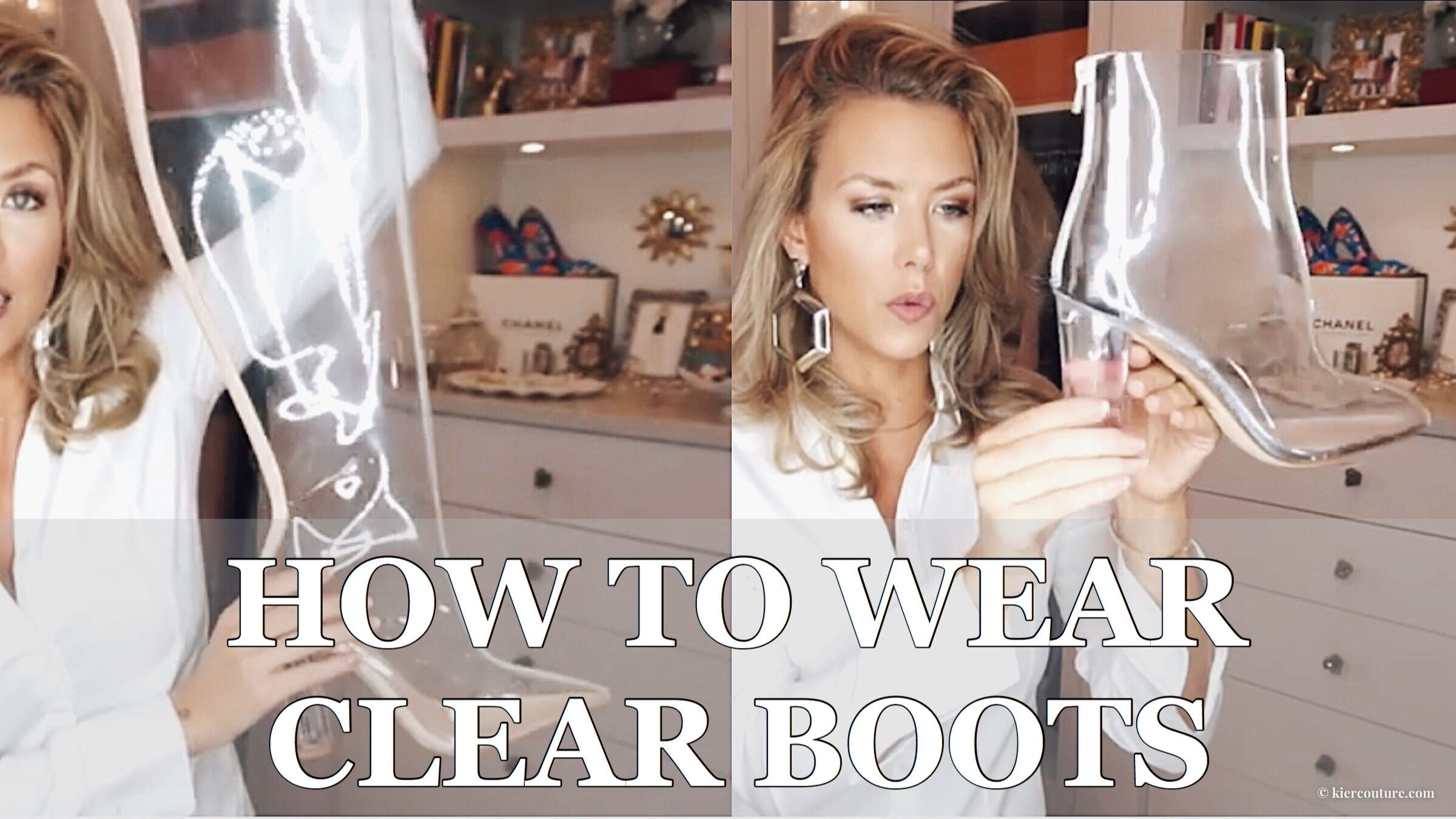 How to Wear Clear Boots