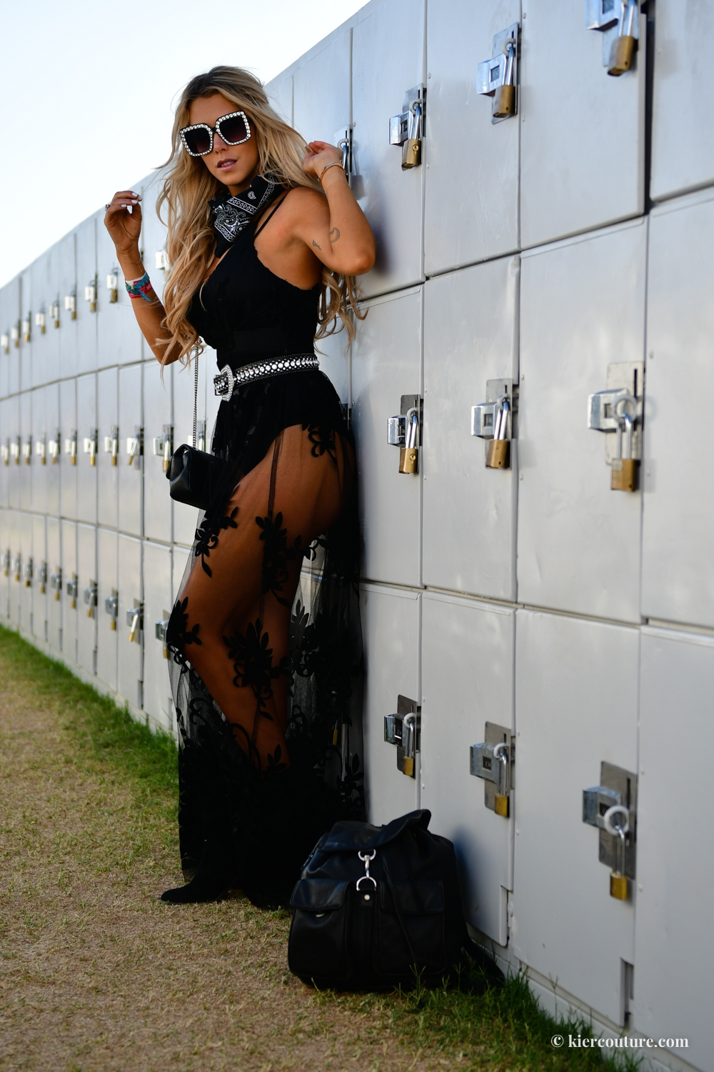 festival lace outfit