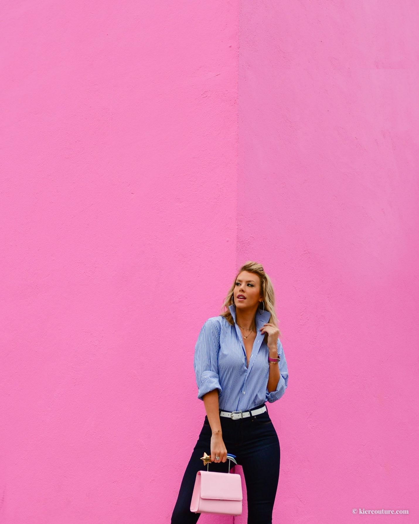 Kier Mellour pink wall