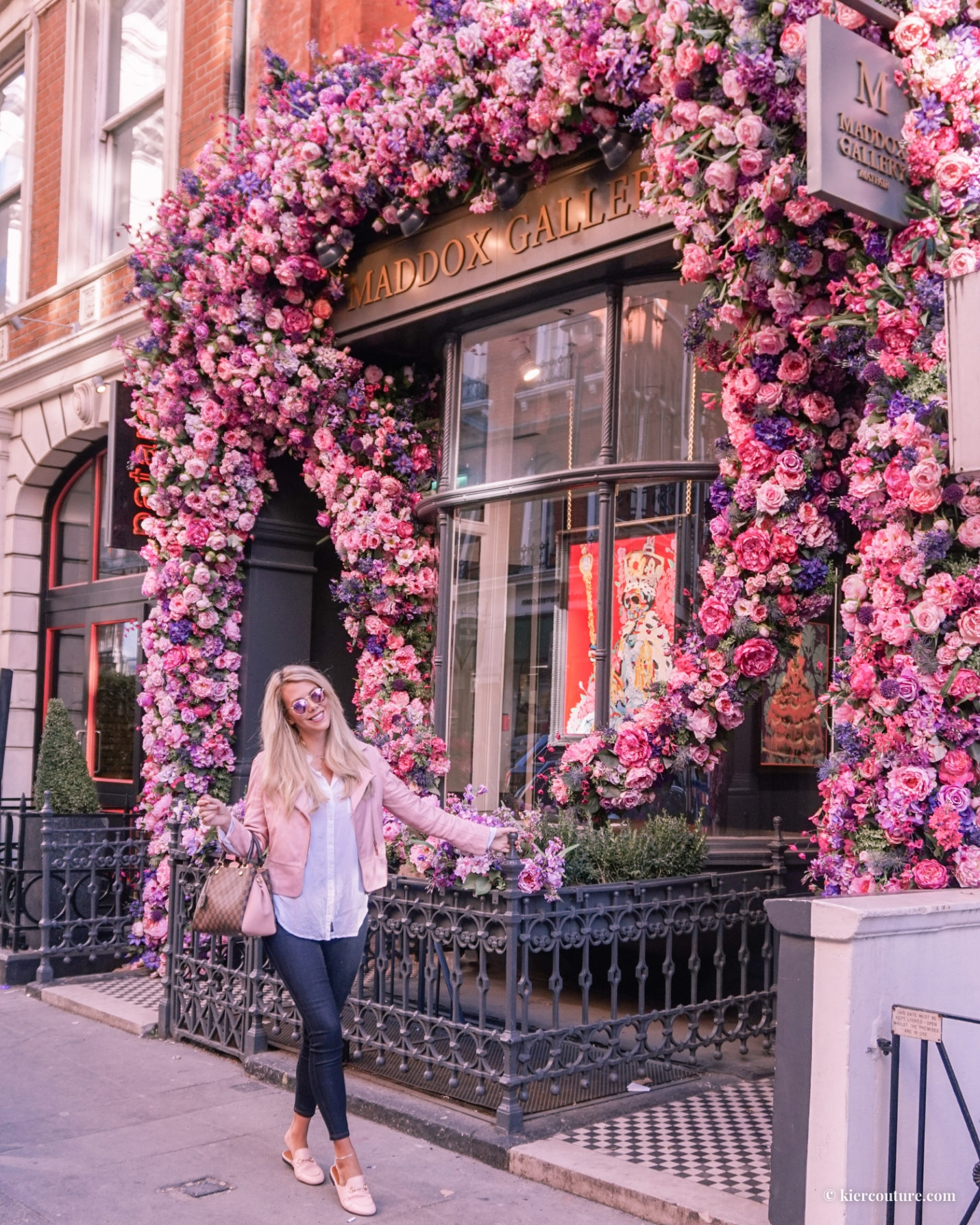 pink london outfit