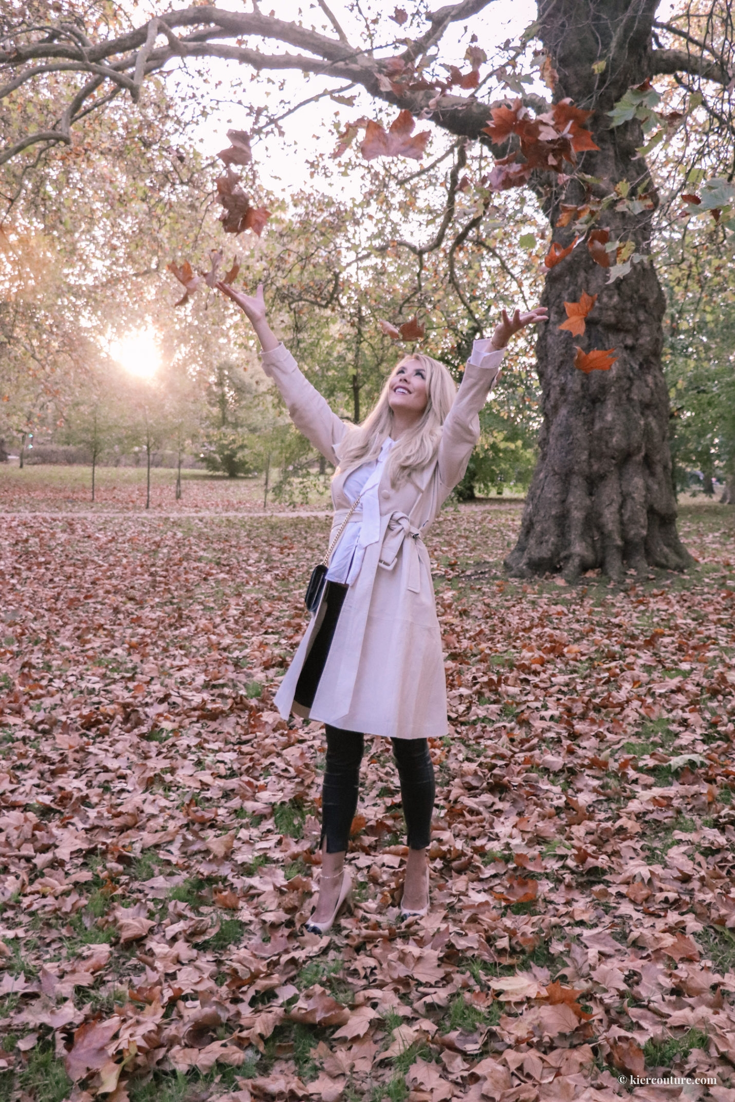 Hyde Park London Fall Outfit